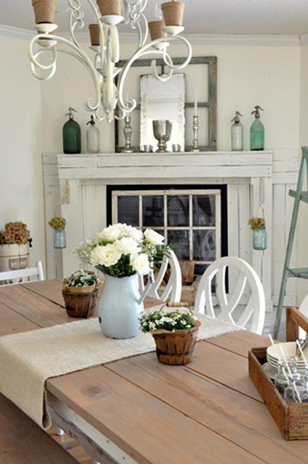 decorating unused fireplaces