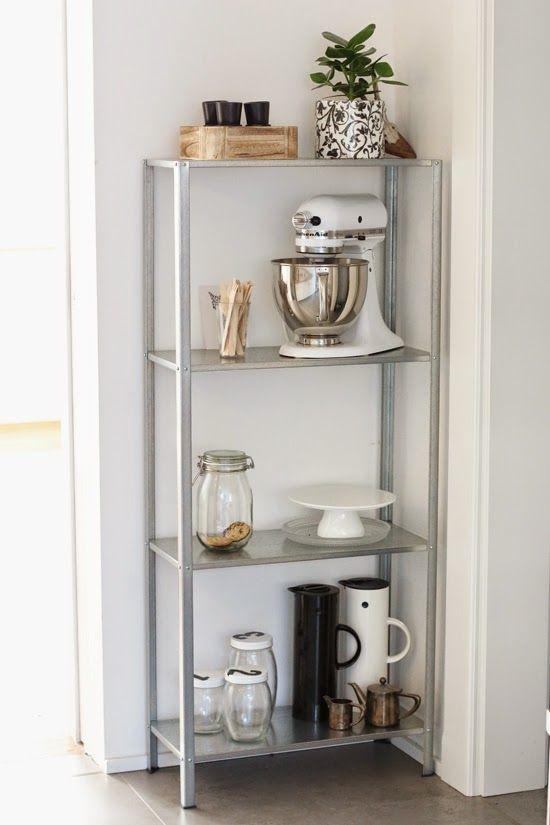 Ikea Hyllis Shelf in my kitchen | 23qm Stil