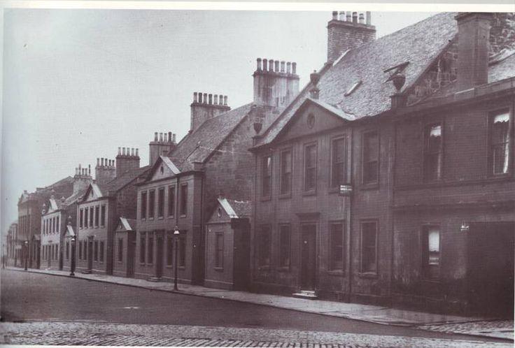 1780s merchants' houses by Glasgow Green. Knocked down by Glasgow Ciorporation