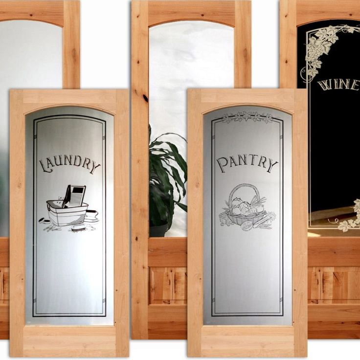Prehung Interior Frosted Glass Door