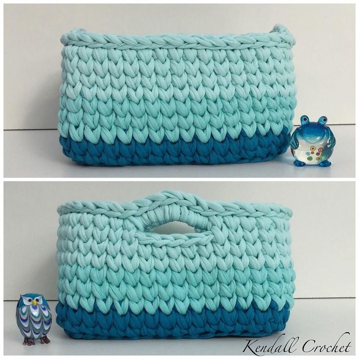 #Lincraft #crochet #crochetersofinstagram #crochetbasket #bobbiny #trapillo #hoooked #hoookedzapagetti #kottoon #fiodemalha #tshirtyarn by kendallcrochet