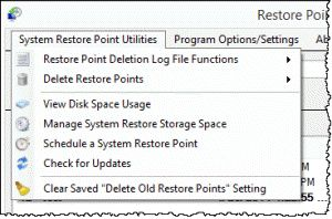 Creating and Managing Windows 7 and 8 System Restore Points the Really Easy Way