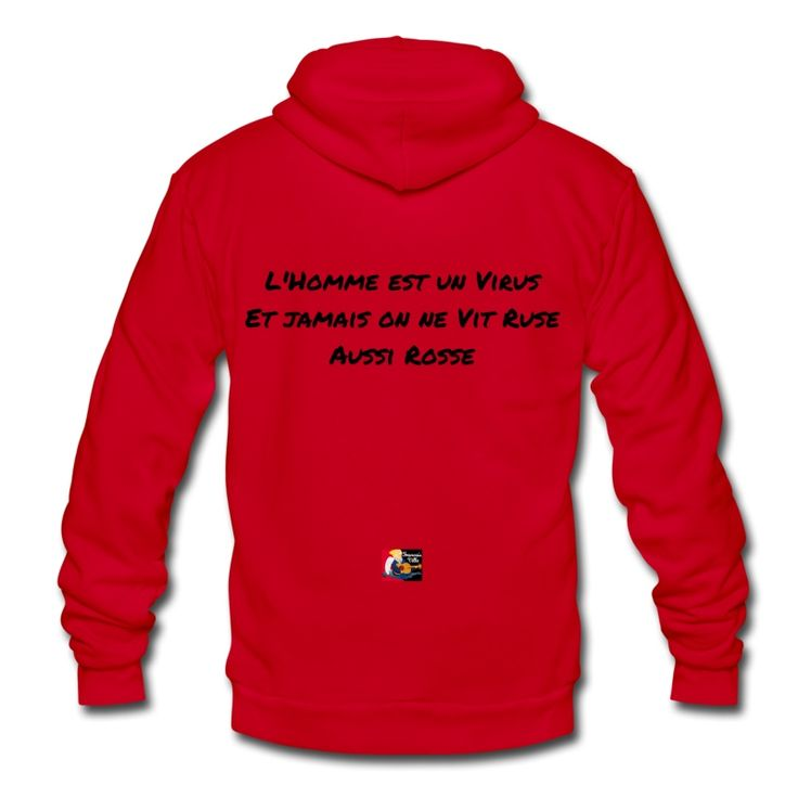Mon T-shirt humaniste : L'homme est un VIRUS, et jamais on ne VIT RUSE aussi ROSSE  Commande ici ton modèle : https://shop.spreadshirt.fr/jeux-de-mots-francois-ville/15872480?q=I15872480  Découvre d'autres t-shirts viraux : https://shop.spreadshirt.fr/jeux-de-mots-francois-ville/virus  #tshirt #virus #ruse #microbe #cancer #viral #maladie #spreadshirt