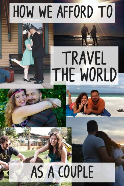 Curious how we afford to travel the world as a couple? A lot goes into it including working online, a tight travel budget, and more. Read on to find out how you can do the same