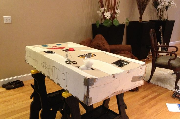 LOL!!! DIY Kid-LIFESIZED OPERATION game made from a box!!!