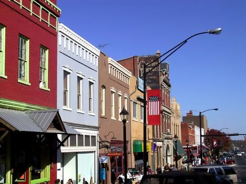 Downtown Athens GA. . .one week til I am back. . .and then another week after that for the game!