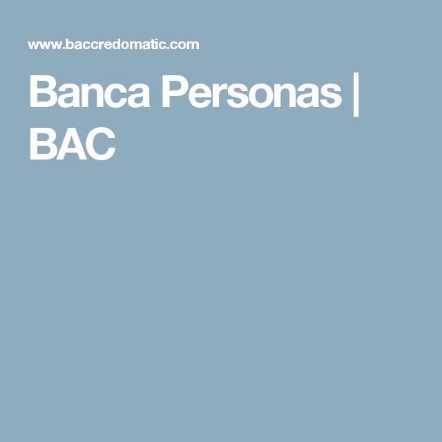 Banca Personas   BAC