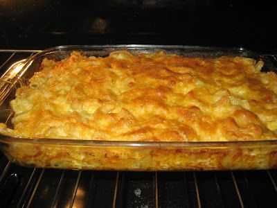 YUMMY Homemade Macaroni & Cheese, It's a Paula Dean!