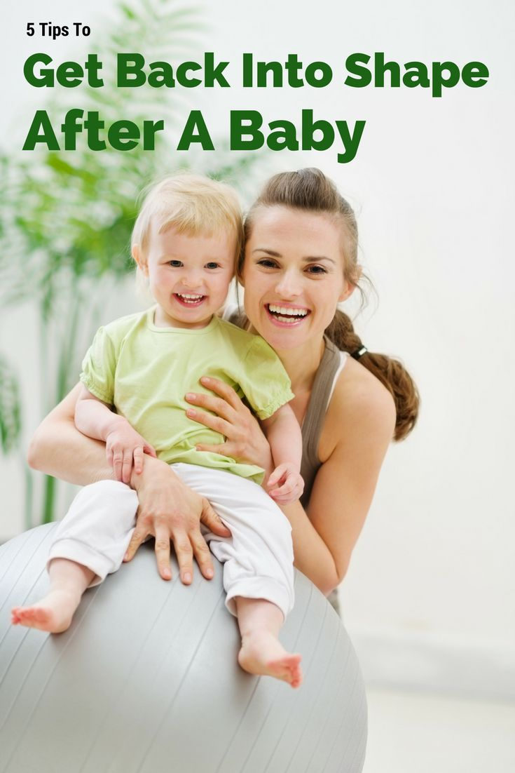 How to lose baby weight and get back into shape after having a baby with simple tips that are easy to incorporate.