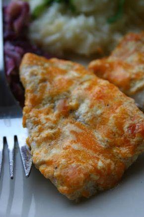 Filety rybne zapiekane z serem