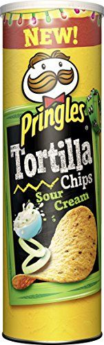 Pringles Tortilla Sour Cream, 6er Pack (6 x 180 g)