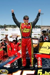 Clint Bowyer wins the NASCAR Sprint Cup Series race at Sonoma