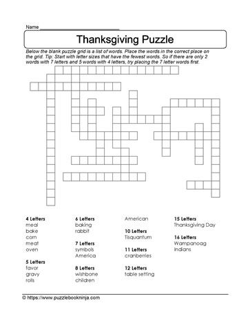 38 besten Thanksgiving Puzzles Bilder auf Pinterest | Beschulung zu ...