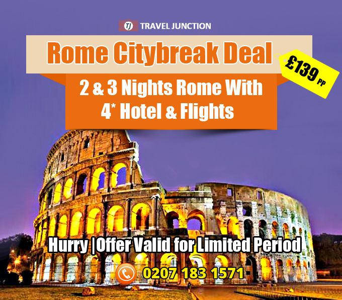 #Rome is always been a pleasing place to step on, right from beautiful places to discover to the popular places to have delicious cuisine. Experience #Rometour and enjoy travel. Call at:0207 183 1571