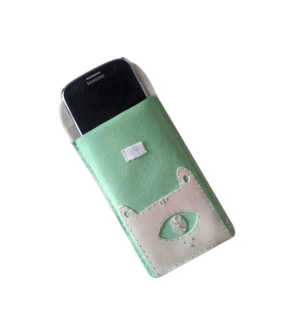 Minty Monster Iphone Case