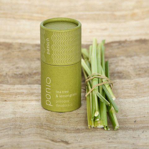 Tea tree & lemongras - prírodný deodorant