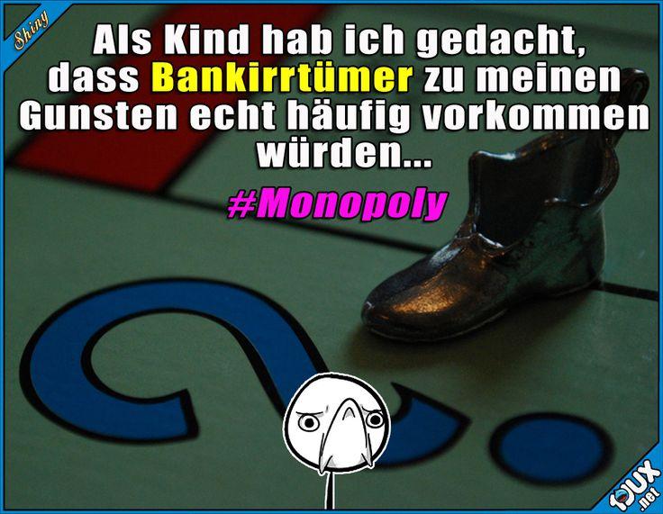 Selten so enttäuscht gewesen. #Monopoly #Kindheit #Kindheitsmomente #erwachsen #Sprüche #Jodel #Humor #sowahr #Witze