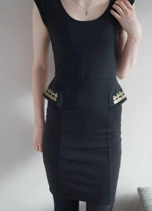Kup mój przedmiot na #vintedpl http://www.vinted.pl/damska-odziez/krotkie-sukienki/12011004-czarna-dopasowana-sukienka-reserved-cwieki