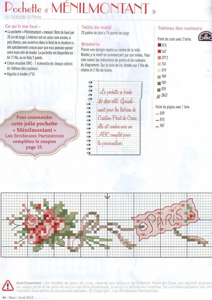 Gráficos Ponto Cruz: Ponto cruz - gráficos delicados
