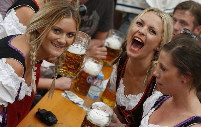 В Германии открылся очередной пивной фестиваль «Oktoberfest»