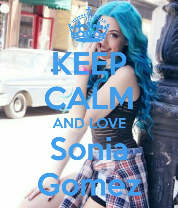 Keep calm: Sonia Gomez (01)