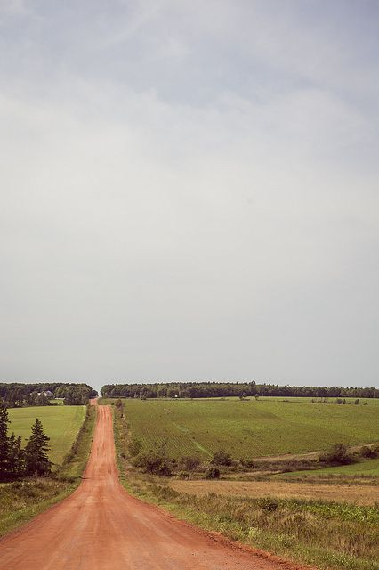 Prince Edward Island, Canada - Red Clay Road #ExploreCanada #PEI by kk+, via Flickr