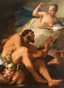 Nicolo Bambini - Vulcano Presenta A Venere Una Freccia Da Lui Battuta