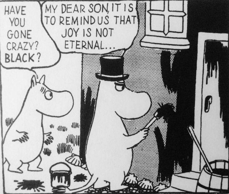 #illustration #comics #ToveJansson #moomins