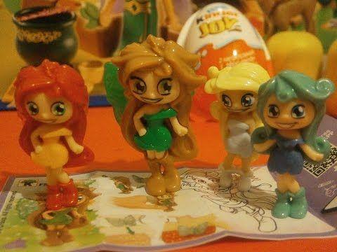 Kinder Lego Fan: Víla v Kinder Joy Vajíčku Krásne Prekvapenie Jar 2...