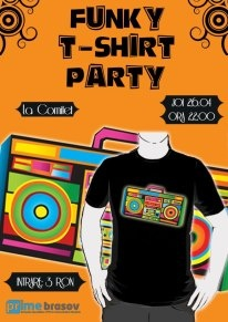 Funky T-shirt Party