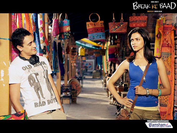 BREAK KE BAAD(2010) Birbirlerini çocukluklarından beri tanıyan ve seven Aaliya ve Abhay,ayrılığın eşiğine gelmiştir.Ancak Abhay'ın ilişkisini bitirmesi pek de kolay olmayacaktır.Seçeneklerimi bir daha düşündüren romantik ve eğlenceli bir film.Başrollerde İmran Khan ve Deepika Padukone. İmdb puanı:5,1