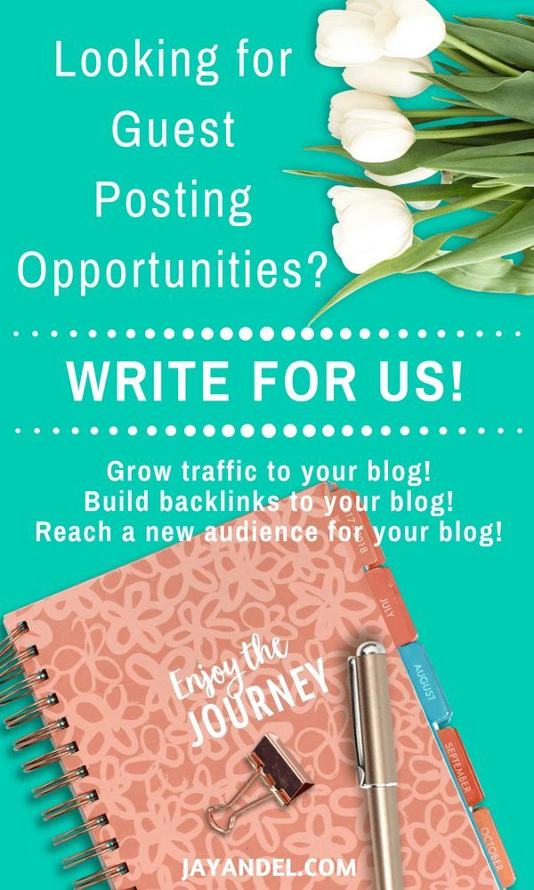 Write For Us - Guest Posting Opportunities   Blogging And