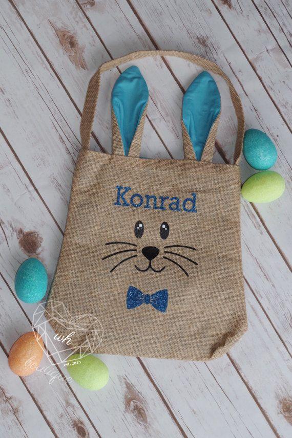 Paniers de Pâques de toile de jute personnalisé. le sac lui-même mesure 12 x 10» (non compris les oreilles et la poignée) sont disponibles en plusieurs combinaisons de couleurs que vous pouvez mélanger et assortir. Sacs de pré commande seront expédier quand ils viennent.