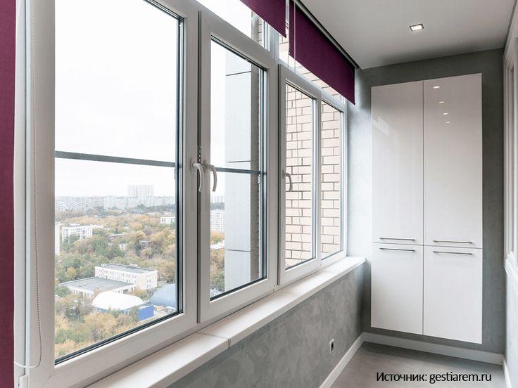Интересные идеи для балкона. Окна Rehau из Германии