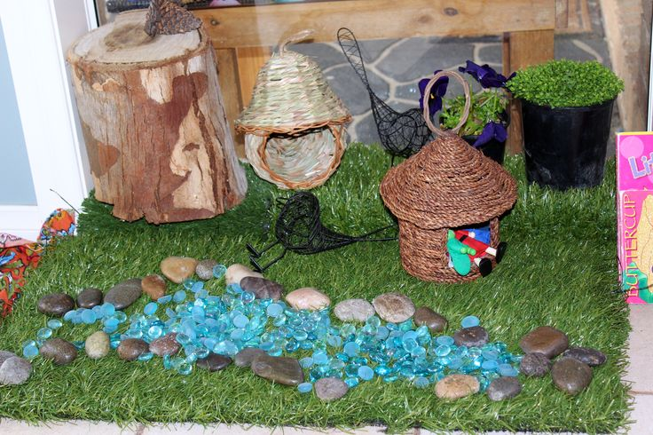 Indoor Fairy garden, the perfect play space for small Bambini Family Day Care groups.