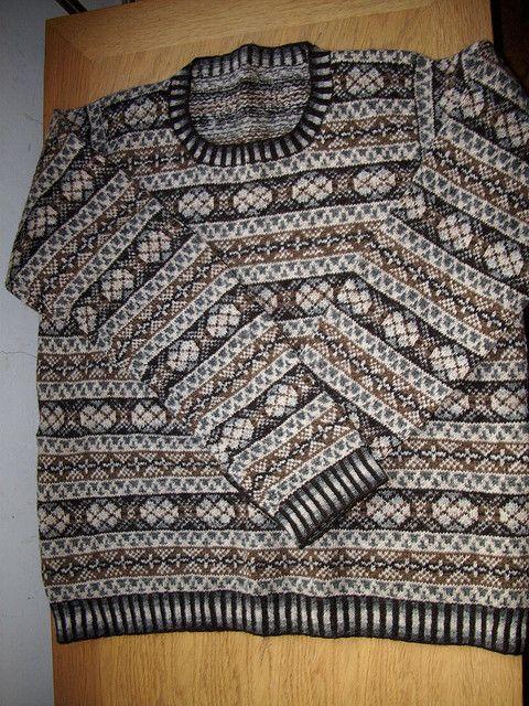 Ravelry: OXO Fair Isle pattern by Margaret Stuart
