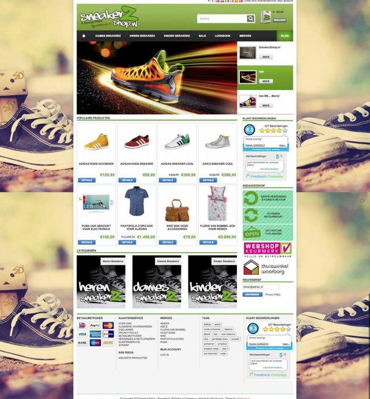 SEOshop theme in theme store. #online #store #web #design