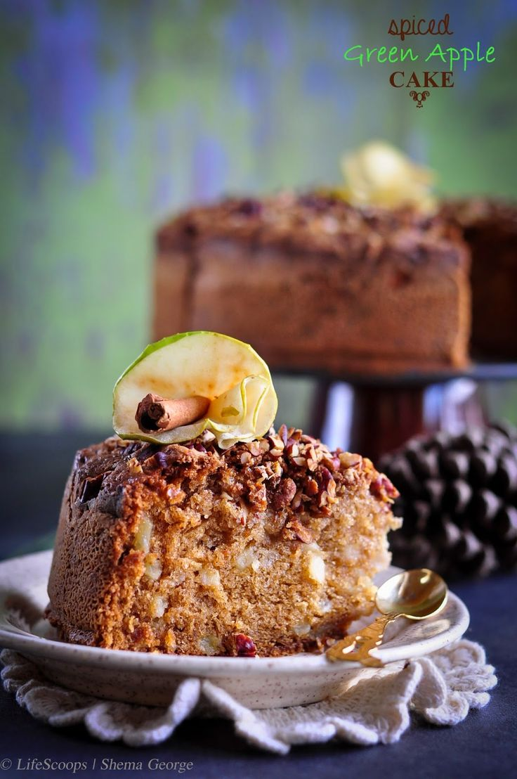 Life Scoops: Spiced Green Apple Cake