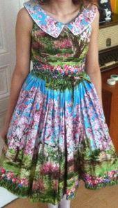 Frühlingsbaumkleid von Modcloth mit Petticoat von Lena Hoschek