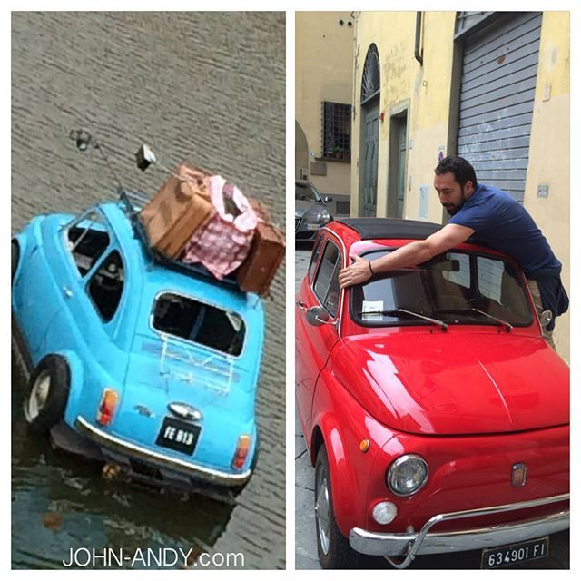 #johnandy #loves #travel #with #fiat #500 #florence #italy