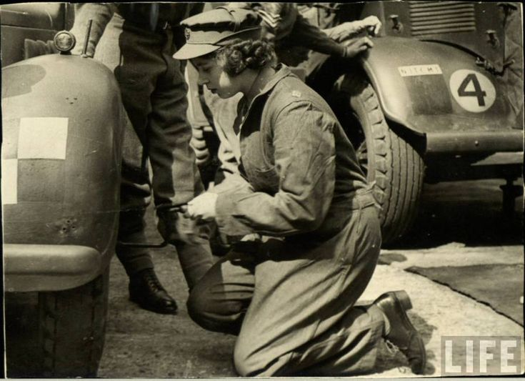 In February 1945, Elizabeth II joined the Women's Auxiliary Territorial Service, as an honorary Second Subaltern with the service number of 230873. She trained as a driver and mechanic, drove a military truck, and was promoted to honorary Junior Commander five months later. She is the last surviving head of state who served in uniform during the Second World War.
