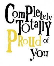 Super trots op jou.