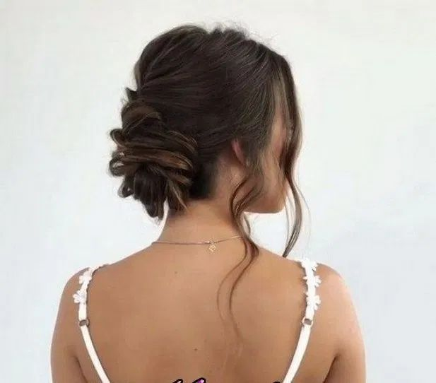 115+ creative bun hairstyles to go well with your mood 31 ~ Modern House Design