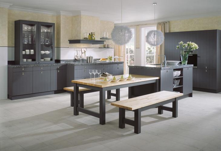 20 best Küchen in Anthrazit images on Pinterest   Kitchen designs ...