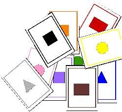 * Vormen en kleurenspel! free download /Jeux à imprimer et à fabriquer