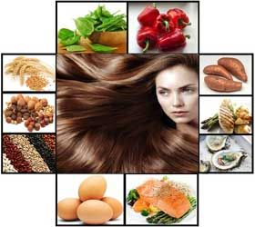 Healthy foods for sexy hair