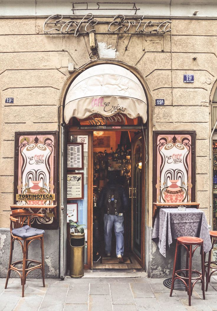 old bar sign Trieste