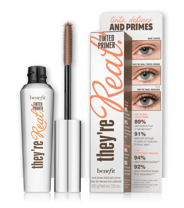 they're real tinted eyelash primer - BeachBeautyMakeup2016 - http://www.styledtosparkle.com/beauty/beach-beauty-2016-makeup-essentials/