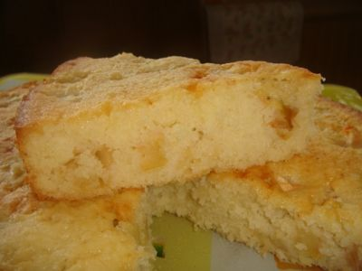 Кокосово-яблочный пирог : Выпечка сладкая