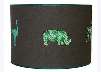 hippe safari hanglamp 40cm Taftan | kinderen-shop Kleine Zebra